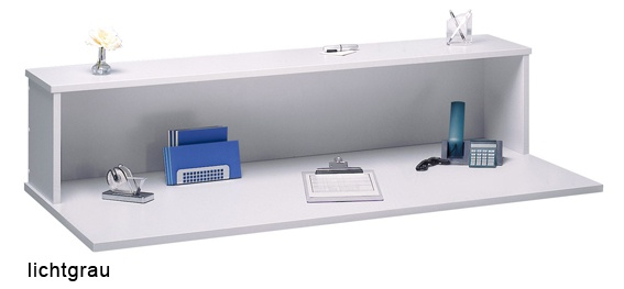 Schreibtisch Hammerbacher F-Serie 80 x 80 cm Eiche Dekor