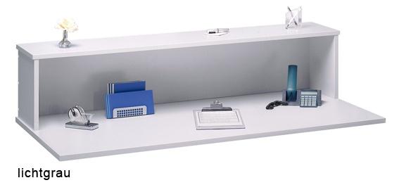 Schreibtisch Hammerbacher Q-Serie 120 x 80 cm Eiche Dekor