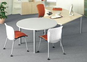 Schreibtisch Kombination Pendo Rondo Winkeltisch 135 Grad Farbauswahl