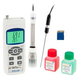 pH-Meter PCE-228-Kit