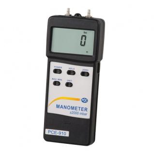 Luft / Flüssigkeits - Druckmessgerät PCE-910