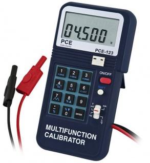Digitalmultimeter PCE-123