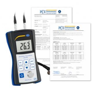Dickenmessgerät PCE-TG 50