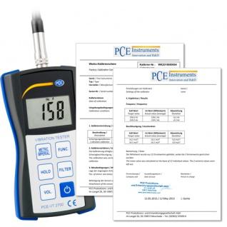 Vibrationsmessgerät PCE-VT 2700