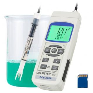 pH-Meter PCE-228P für Kosmetika
