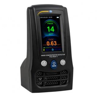 Feinstaubmessgerät / Luftqualität Messgerät PCE-RCM 11