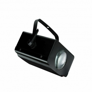 TIP 3382 LED Single Beam 10W Laser Beamer RGB 230V Partylicht Schwarz