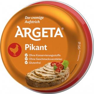 Argeta Huhn PIKANT, Aufstrich, glutenfrei