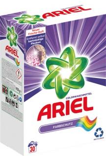 Ariel Farbschutz, Colorwaschmittel, Pulver 30 WG