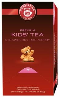 Teekanne Premium Kindertee, Früchtetee, Teebeutel im Kuvert, 2. Entnahmefach/displaytauglich