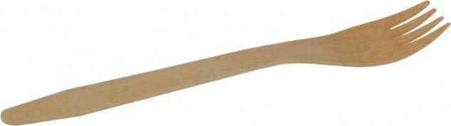 naturesse Gabel, Holz, Einweg