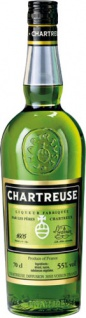 Chartreuse Grün, 55 % Vol.Alk., Frankreich