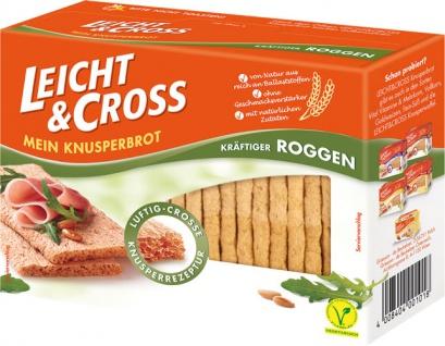 Leicht & Cross Roggen, Knusperbrot