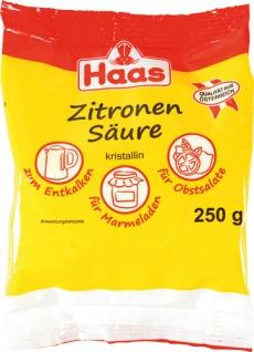 Haas Zitronensäure