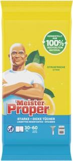 Meister Proper Citrusfrische, Feuchte Reinigungstücher