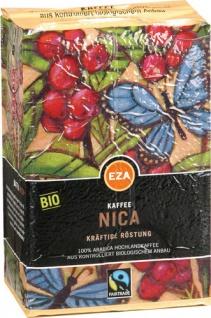 EZA Fairtrade Nica Gehaltvoll, Bio-Kaffee, gemahlen