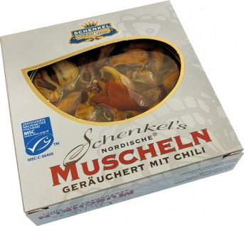 Schenkel MSC Nordische Muscheln geräuchert mit Chili