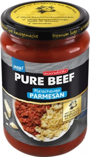 Inzersdorfer Pure Beef Fleischsugo Parmesan