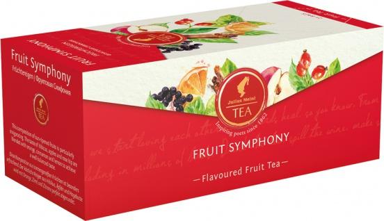 Julius Meinl Fruit Symphony Früchtereigen, Früchtetee, Teebeutel im Kuvert, 2. Entnahmefach/display