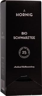 J. Hornig Bio Schwarztee, Hochland Blattteemischung, Pyramidenbeutel im Kuvert, 2. Entnahmefach/dis
