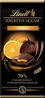 Lindt Edelbitter Mousse Orange, 70 % Cacao