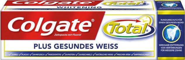 Colgate Total Plus Gesundes Weiss, Zahncreme