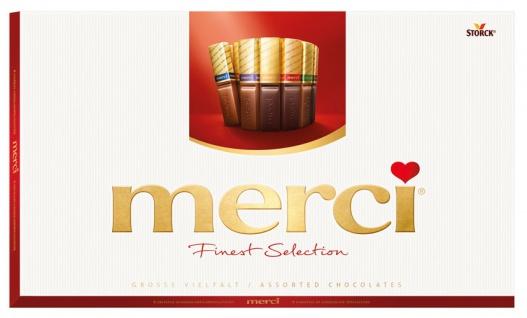 Merci Finest Selection Große Vielfalt, 32 Stück