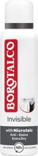 Borotalco Invisible, 48h Deo Spray mit Mikrotalk, 0 % Alkohol, Anti-Transpirant/Anti-Perspirant