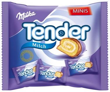 Milka Tender Minis Milch, 8 Stück