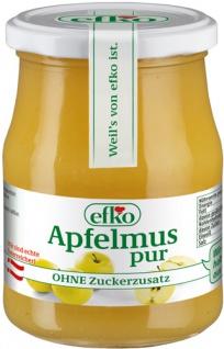 Efko Apfelmus pur, ohne Zuckerzusatz