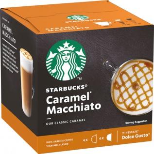 Starbucks Dolce Gusto Caramel Macchiato, 12 Kaffeekapseln