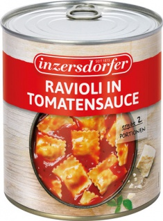 Inzersdorfer Ravioli in Tomatensauce, 2 Portionen