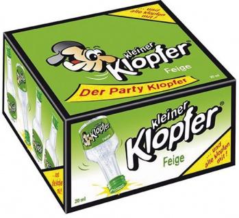Kleiner Klopfer Feige, 17 % Vol.Alk., 25 x 20 ml