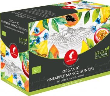 Julius Meinl Bio Ananas-Mango Big Bag (1 Beutel für ca. 1 lt. Wasser), Grüner Tee, Teebeutel im Kuv