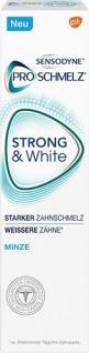 Sensodyne ProSchmelz Strong & White Minze, Starker Zahnschmelz & Weissere Zähne, Zahncreme