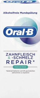 Oral-B Zahnfleisch & -Schmelz Repair Frische Minze, alkoholfreie Mundspülung