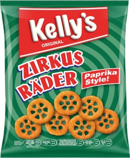 Kelly's Original Zirkus Räder Paprikan Style