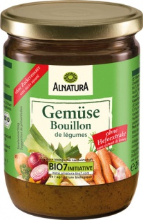 Alnatura Bio Gemüsebouillon hefefrei, ohne Zuckerzusatz