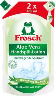 Frosch Spül-Lotion Sensitiv Aloe Vera BIO, Nachfüllbeutel