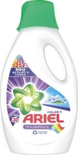 Ariel Color+ Frühlingsfrische Actilift Power, Colorwaschmittel, flüssig 30 WG