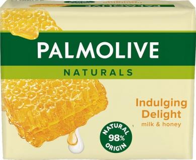 Palmolive Naturals Milch & Honig, Seife, 4 Stück