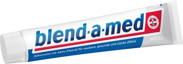 Blend-a-med Weiss, Zahncreme