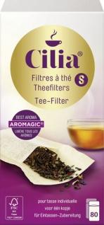 Cilia Teefilter Größe S, halterlos, für 1-Tassen-Zubereitung