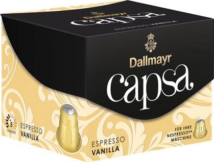 Dallmayr Capsa Espresso Vanilla 5, Nespresso-kompatibel, 10 Kaffeekapseln