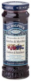 St. Dalfour Fruchtaufstrich Cranberry & Heidelbeeren