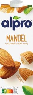 Alpro Mandel Drink Original, aus gerösteten Mandeln
