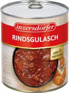 Inzersdorfer Rindsgulasch, 2 Portionen