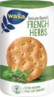 Wasa Delicate Rounds French Herbs, Knäckebrotscheiben