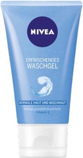 Nivea Erfrischendes Waschgel, für normale Haut und Mischhaut
