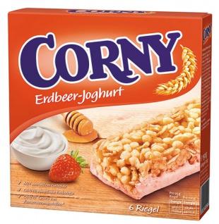 Corny Classic Erdbeer-Joghurt Müsliriegel, 6 Stück